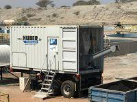 mobile sludge dewatering